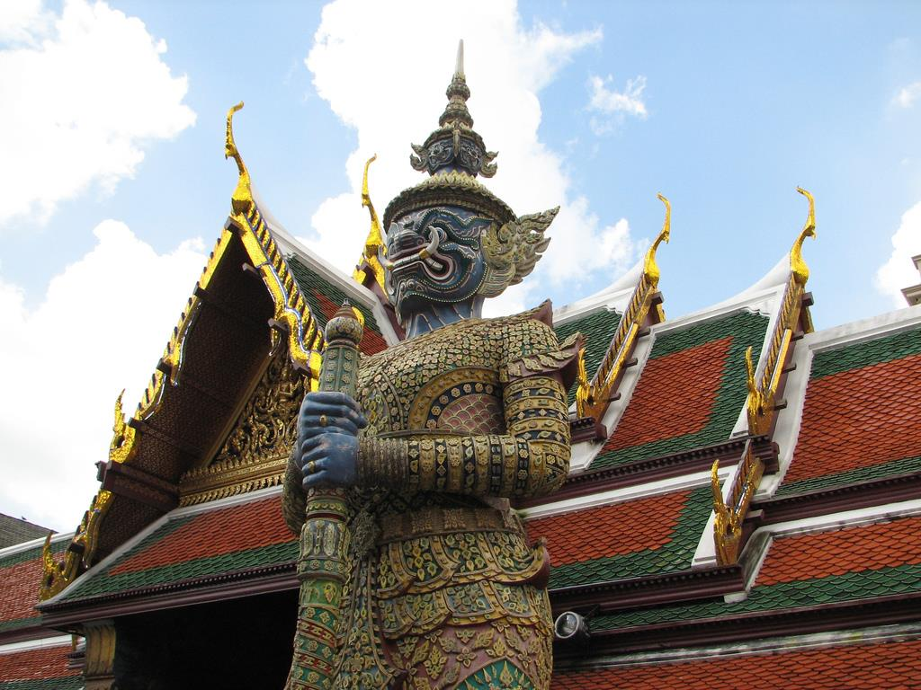 4 معبد بسیار زیبای بانکوک
