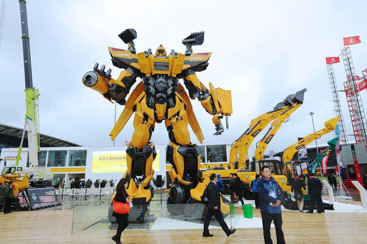 نمایشگاه ماشین آلات ساختمانی و معدنی چین
