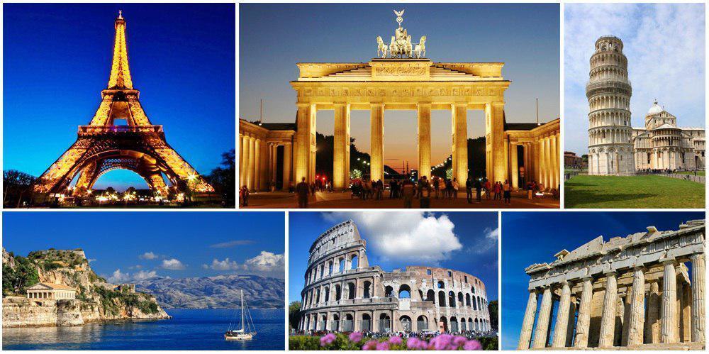 تور 24 روزه فرانسه، آلمان، اتریش، ایتالیا، یونان، ترکیه ( دور اروپا )