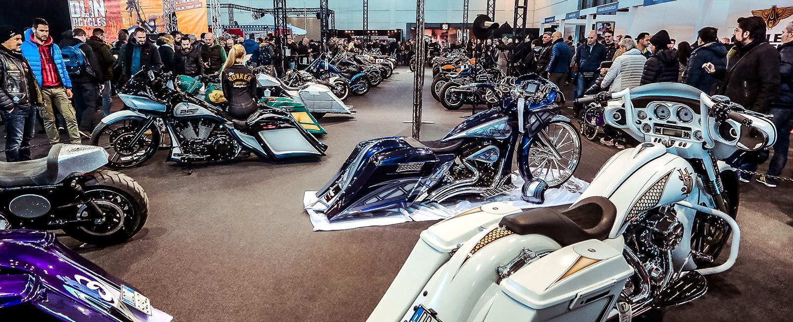 نمایشگاه موتور سیکلت و دوچرخه ورونا