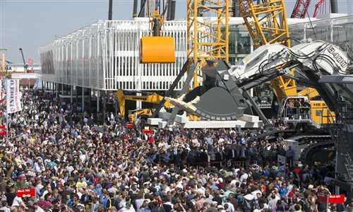 نمایشگاه ماشین آلات ساختمانی مونیخ 2019