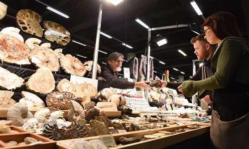 نمایشگاه سنگهای معدنی و قیمتی آلمان