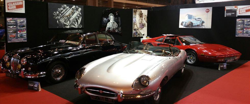 نمایشگاه خودروهای کلاسیک پاریس