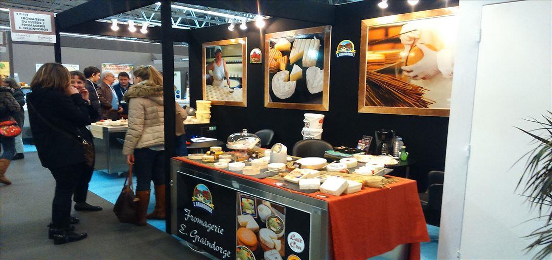 نمایشگاه پنیر و لبنیات پاریس 2018
